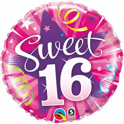 "18"" - Sweet 16 Shining Star"