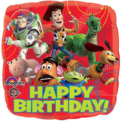 "18"" - Toy Story Gang Happy Birthday!"