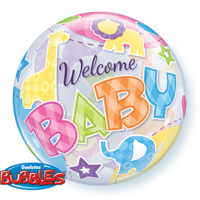 Bubble - Welcome Baby Animal Patterns