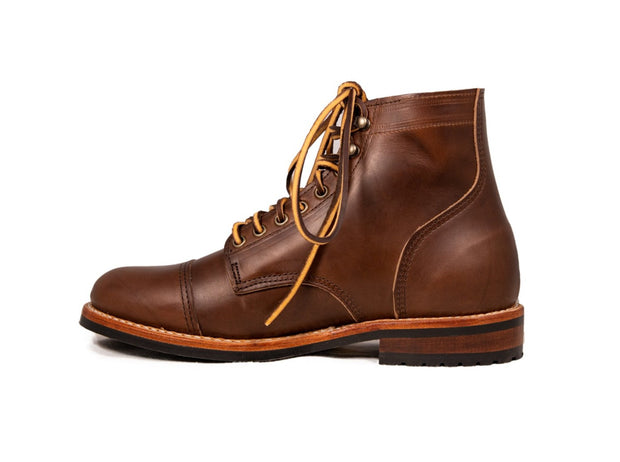 Uptown Boot - Havana Brown CXL