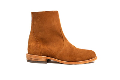 Roper Zip - Aged Bark Roughout 8.5D