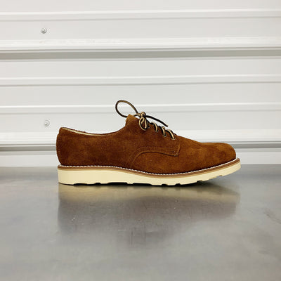 Derby Shoe (1st Model)- Rust Roughout