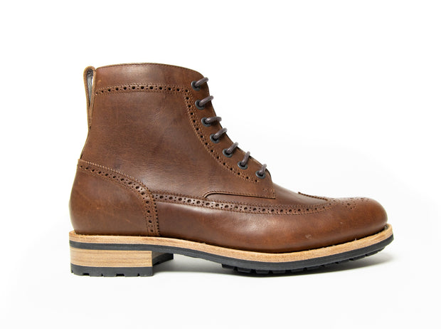 Country Boot - Brown Regency Calf