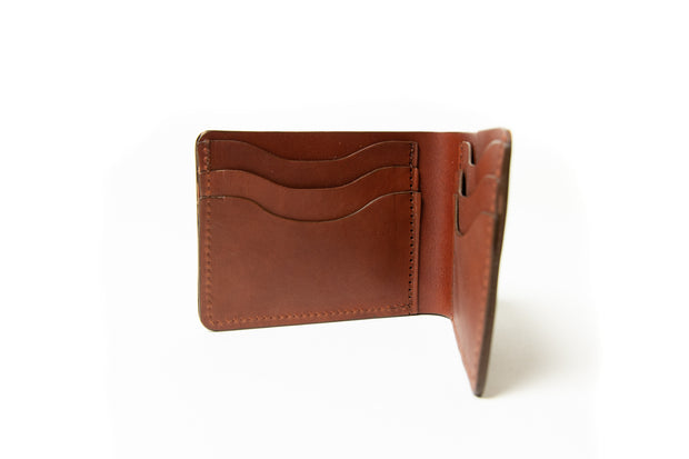 Wallet - Medium Brown Veg Tan