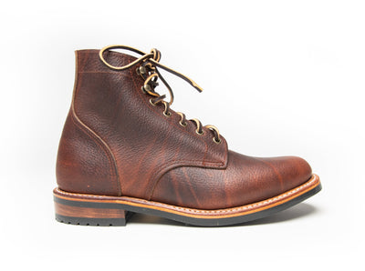 Uptown Boot - Cinnamon Pebble Grain