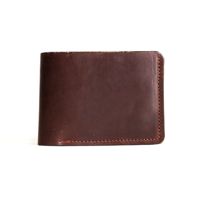 Bifold Wallet - Havana Brown CXL