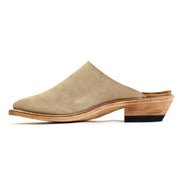 Western Mule - Desert Tan Roughout