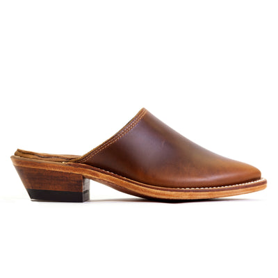 Western Mule - Antique Tan