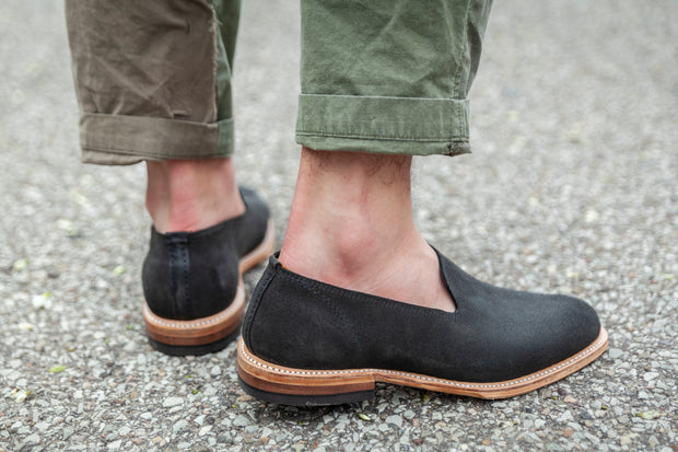 Loafer - Black Roughout