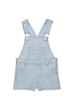 Milky Denim Stripe Overall