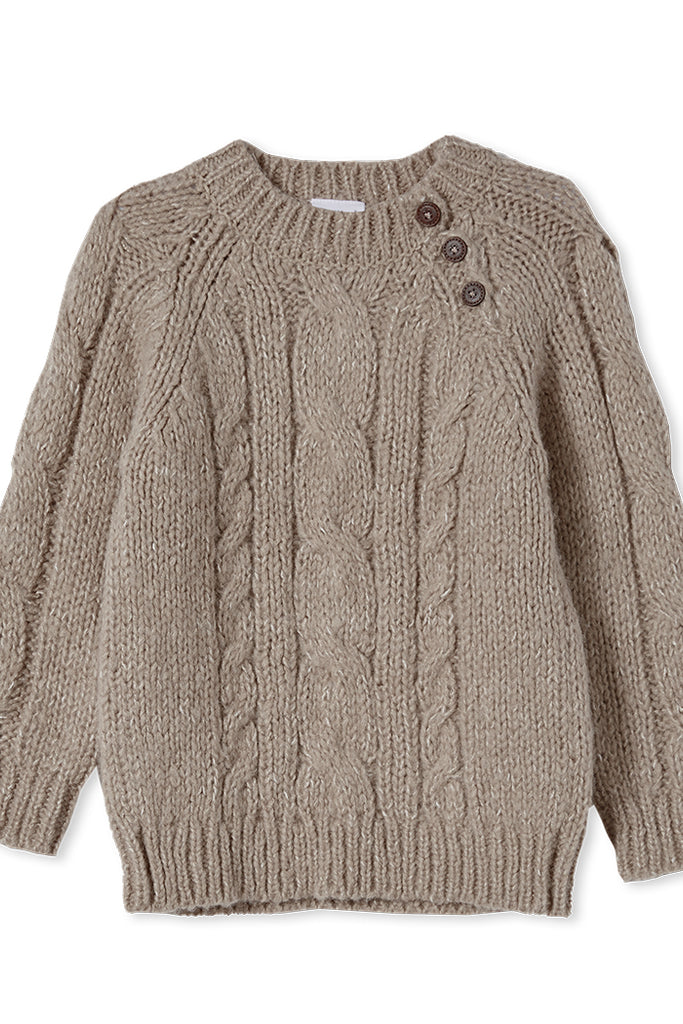 Milky Cable Knit Jumper
