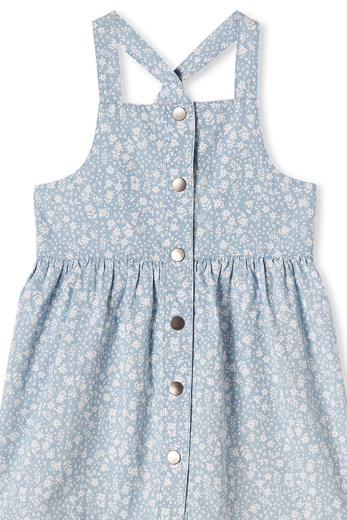 Milky Denim Dress