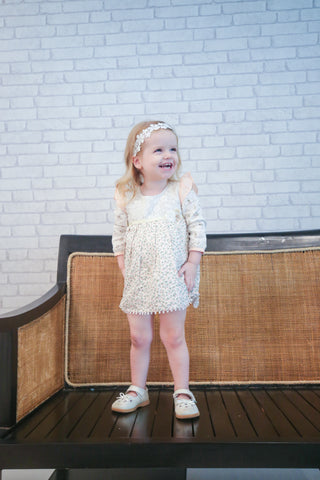 Arthur Ave Tiny Rose Lace Play Dress
