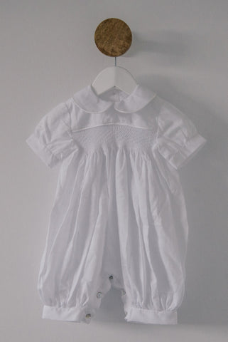 Cotton White Heirloom Romper