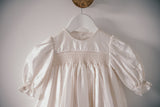 Silk Christening Gown