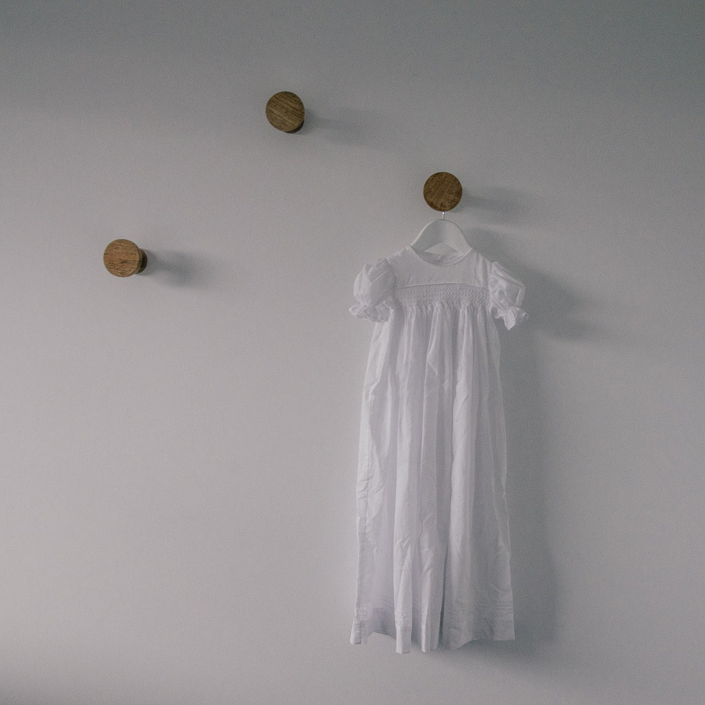 Cotton Christening Gown