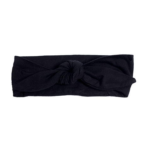 Hoot Kid Headband Black