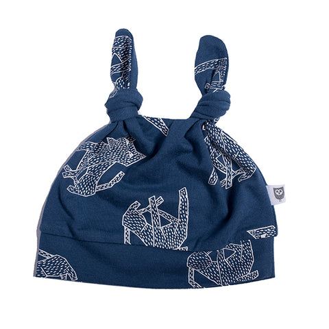 Hoot Kid Sit Boo Beanie Navy