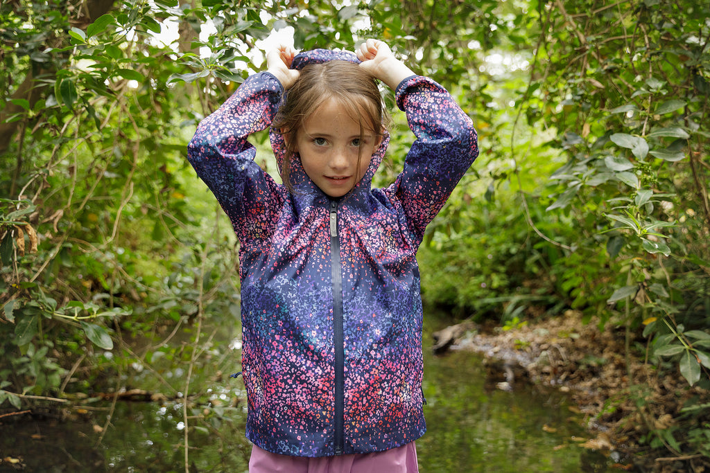 Therm Splashmagic Rainshell Winter Blossom