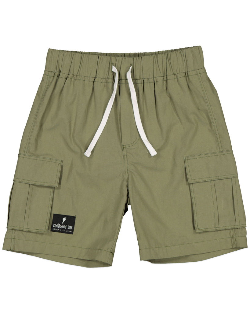 Radicool Jungle Cargo Shorts Khaki