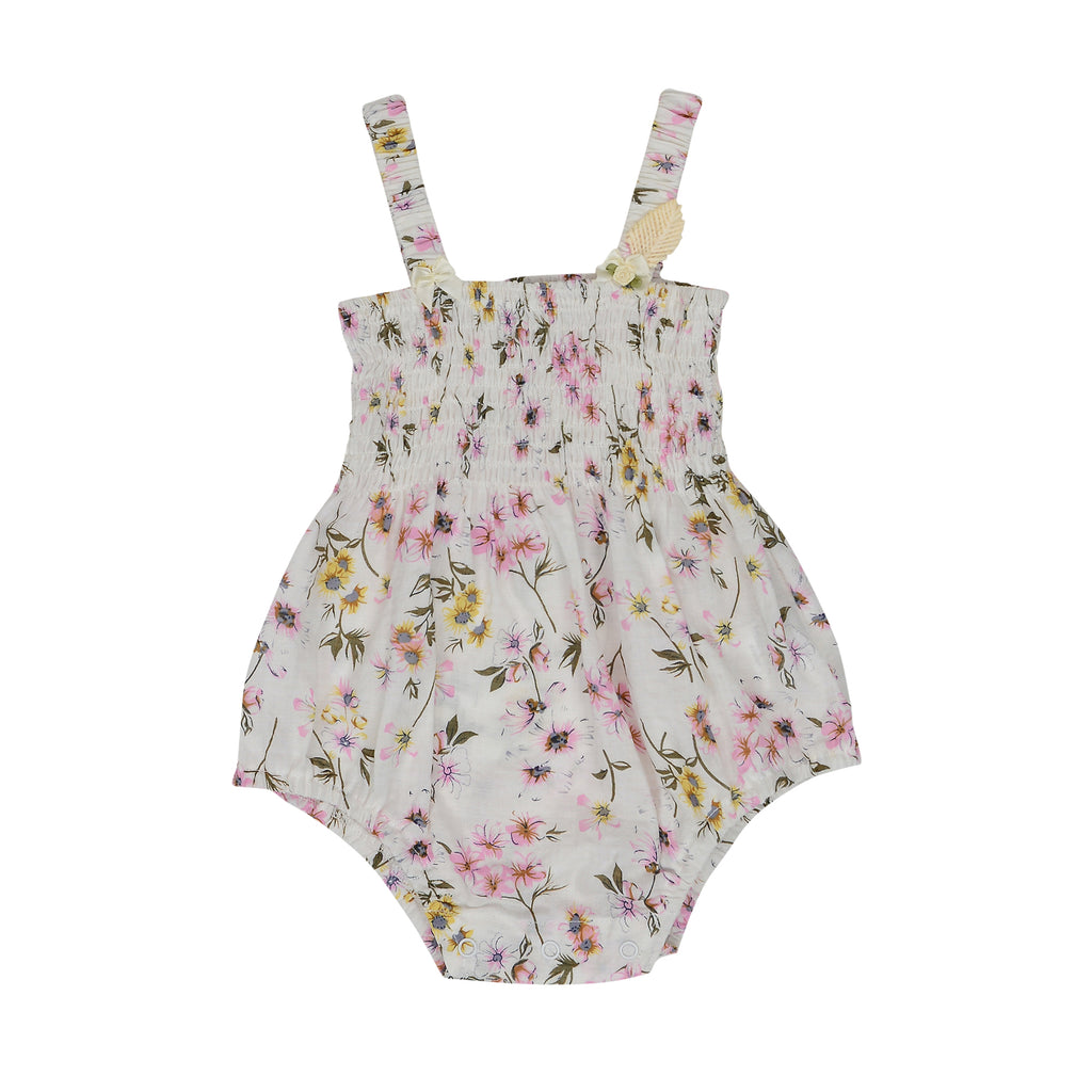 Arthur Ave Floral Wonder Shirring Suit