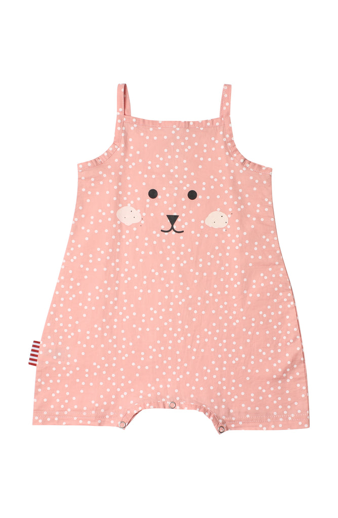 Sooki Character Face Playsuit