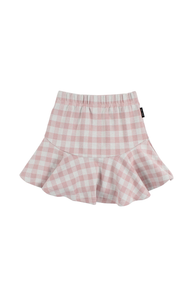 Tiny Tribe Pink Check Skirt