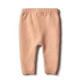 Wilson & Frenchy Tropical Peach Knitted Legging with Baubles