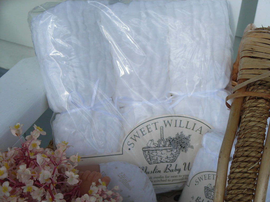 Sweet William Muslin Wrap - 3 pack