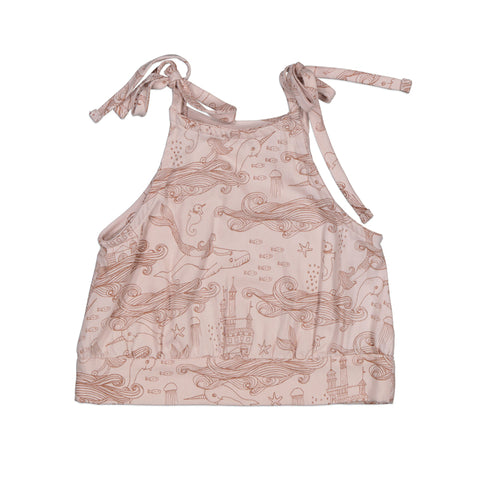Burrow & Be Mermaid Life Penny Singlet