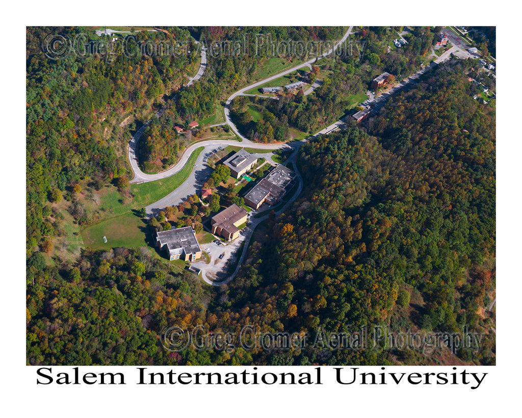 Aerial Photo of Salem International University - Salem, WV