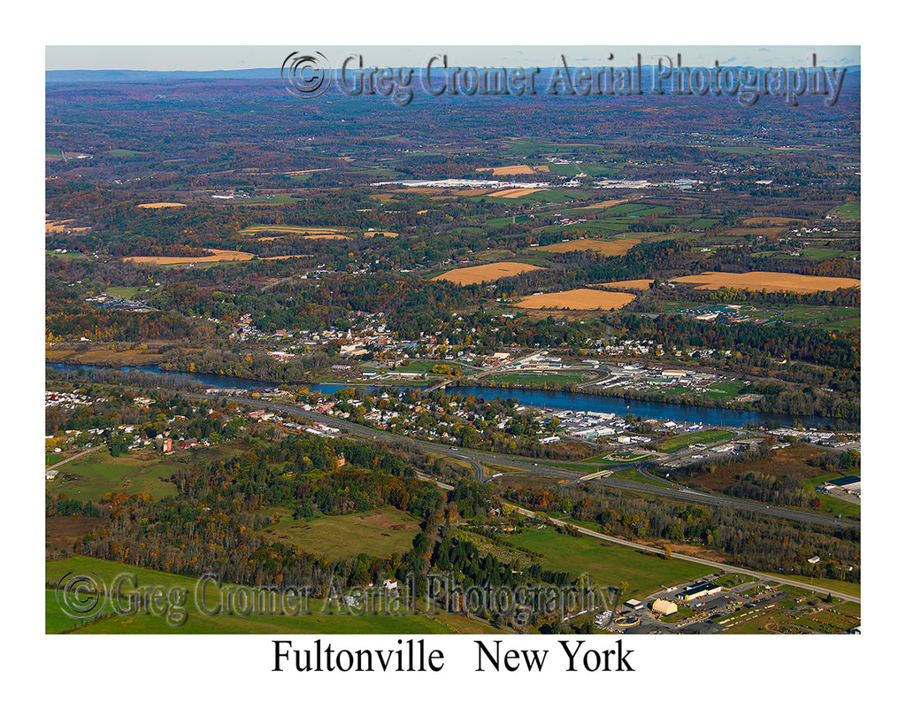 Aerial Photo of Fultonville, New York