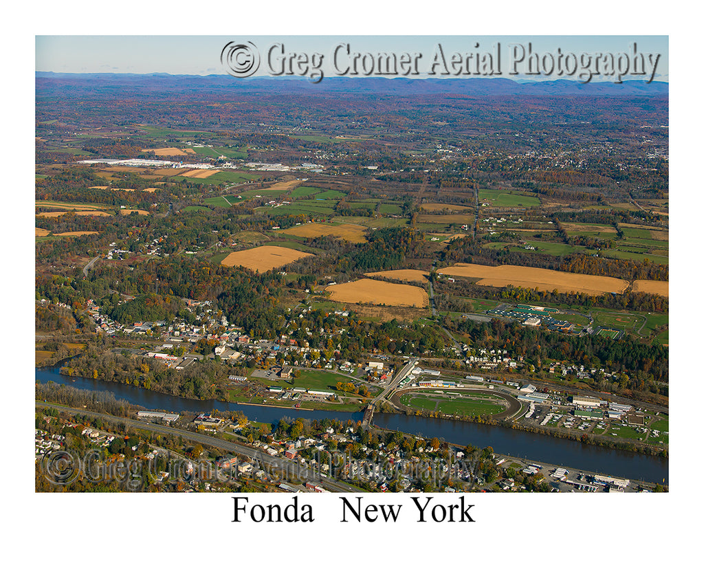 Aerial Photo of Fonda, New York