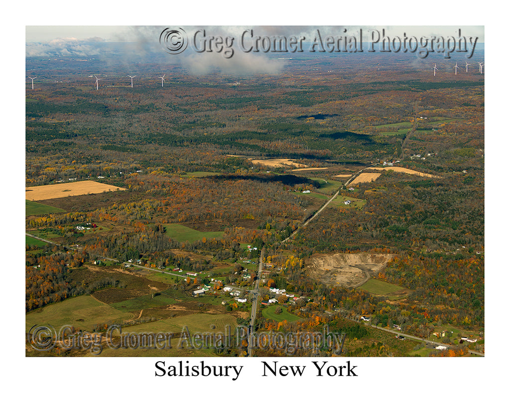 Aerial Photo of Salisbury, New York