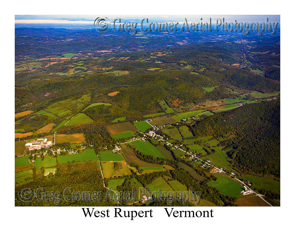 Aerial Photo of West Rupert, Vermont