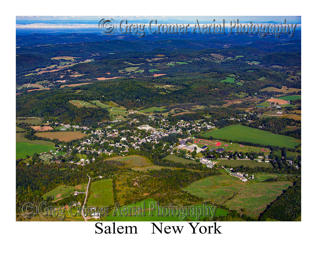 Aerial Photo of Salem, New York