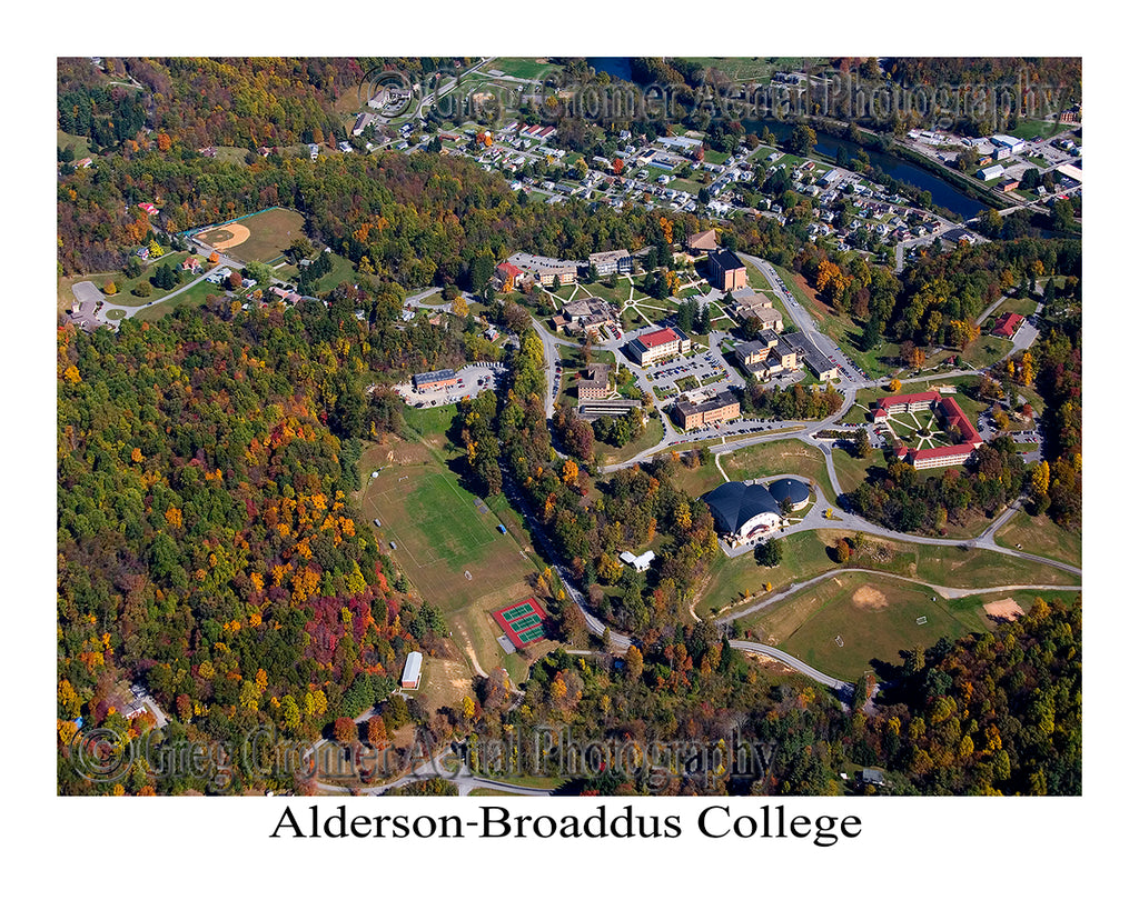Aerial Photo of Alderson Broaddus College - Philippi, WV