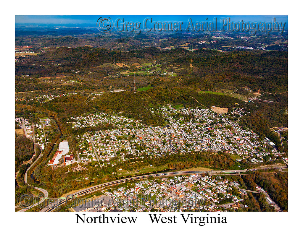 Aerial Photo of Northview, West Virginia