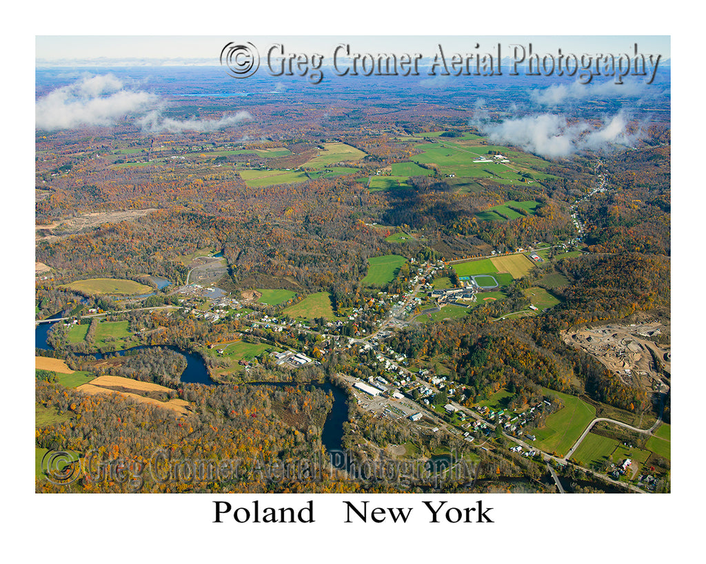Aerial Photo of Poland, New York