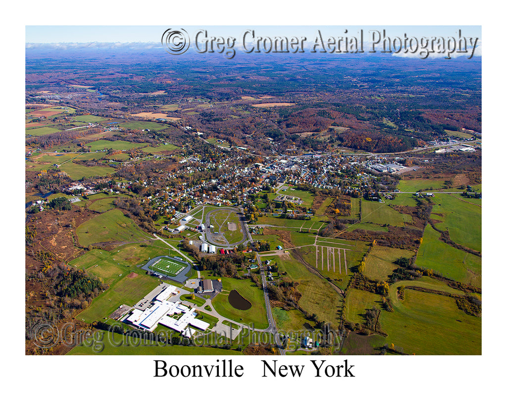 Aerial Photo of Boonville, New York