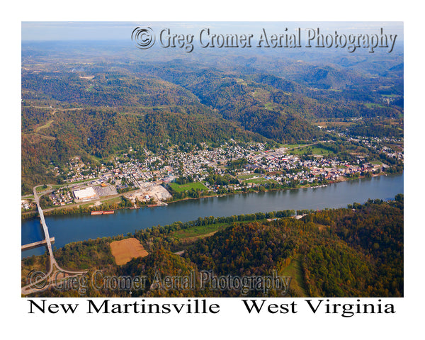 Aerial Photo of New Vrindaban, West Virginia