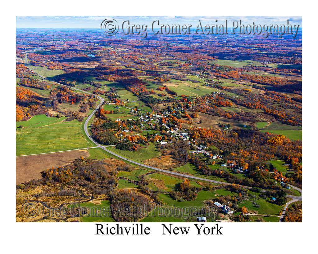 Aerial Photo of Richville, New York