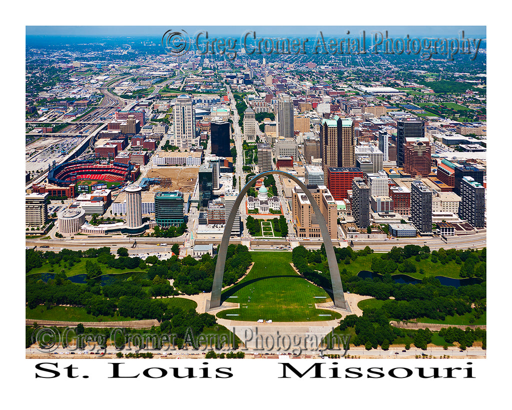 Aerial Photo of St. Louis, Missouri