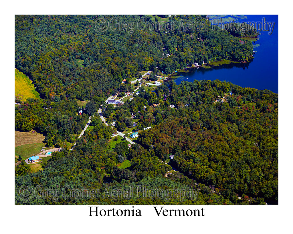 Aerial Photo of Hortonia, Vermont