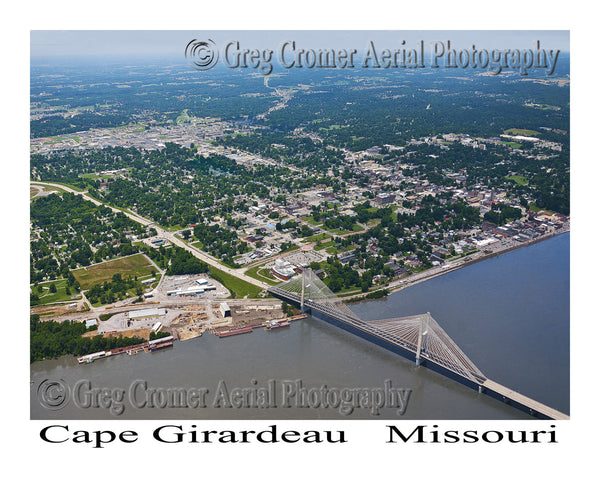 Aerial Photo of Cape Girardeau Missouri