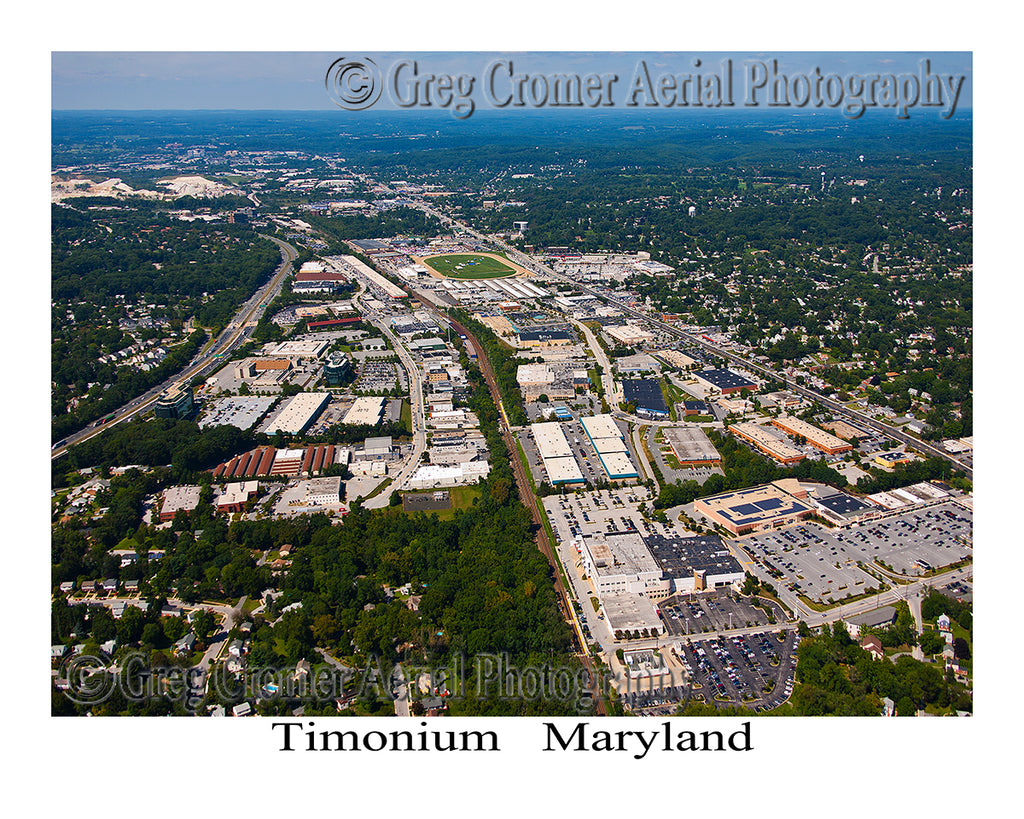 Aerial Photo of Timonium, Maryland