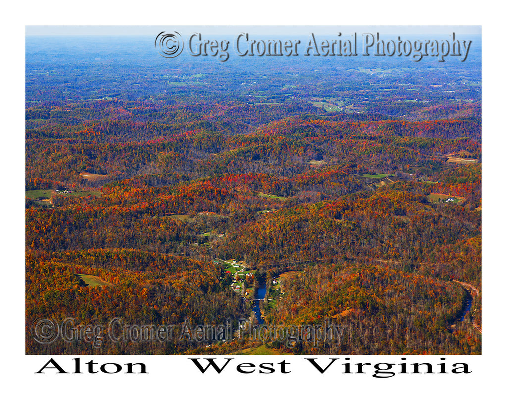 Aerial Photo of Alton, West Virginia