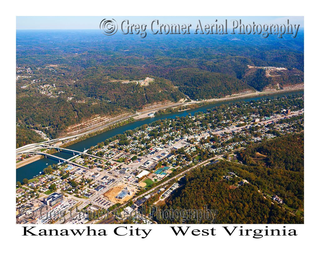 Aerial Photo of Kanawha City, West Virginia