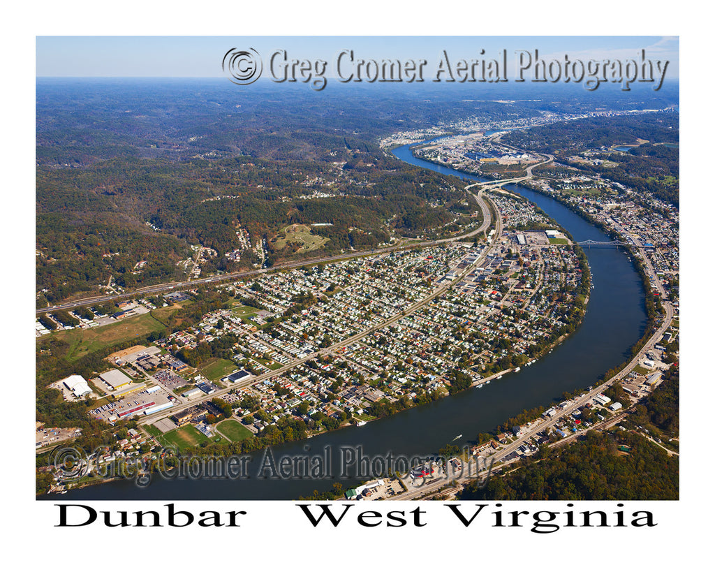 Aerial Photo of Dunbar, West Virginia