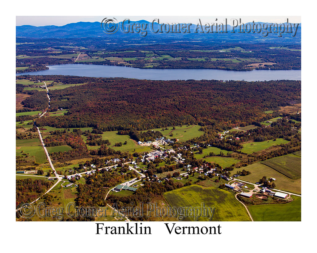 Aerial Photo of Franklin, Vermont